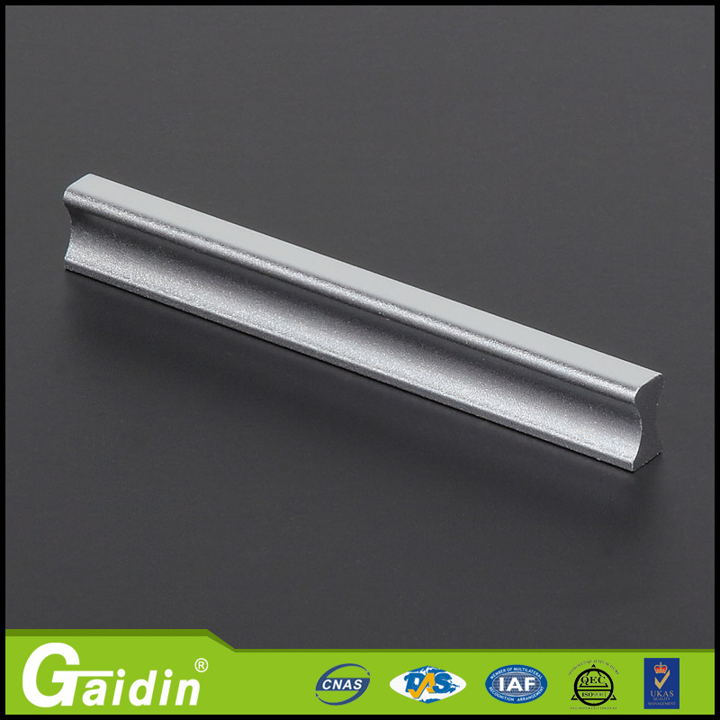 Highly recommended aluminum stag fixed blade knives furniture cabinet door drawer pull handle