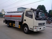 Highway emergency mobile refueling truck tanker with meter table