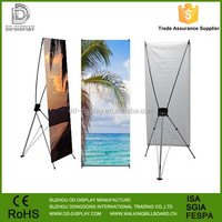 Portable display x stand, Custom X stand banner, X banner stand for advertising