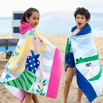 kids hooded beach towels. Wholesale Kids Hooded Beach Towel, Adult Poncho Towel Towels F