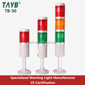 50 Hot Sale Led Signal Tower Lamp/indicator 24v Led Machine Work Light