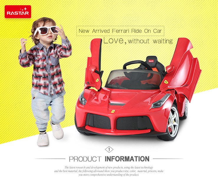 opening door kids sit in car cheap electric ride on cars