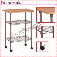 kitchen wire storage rack/ kitchen Commercial-Grade Utility Cart/