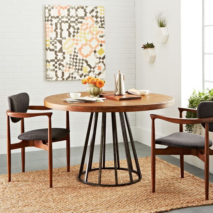 Ikea Breakfast Table: Nordic IKEA Solid Wood Dining Tables And Chairs Round The