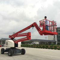 Aerial Construction Work Equipment 300 kg 18m Self-propelled Towable Articulated Electric Boom Lift