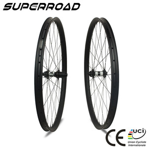 27.5er/650b Lightweight Mtb 30mm AM Tubeless Hookless Carbon Fiber Mountain Bike Wheels