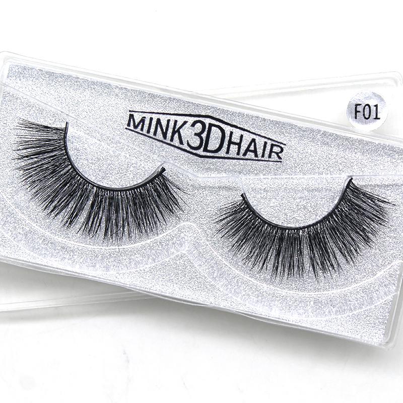 Mytbeauty One Dollar Real Mink Full Strip Eyelashes Vendors Custom Mink Eyelashes Private Label 3D Mink Lashes Eyelashes, Natural black