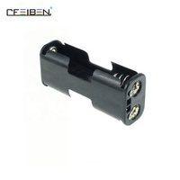 Wholesale piggy back 2 batteries AA series battery pack battery holder
