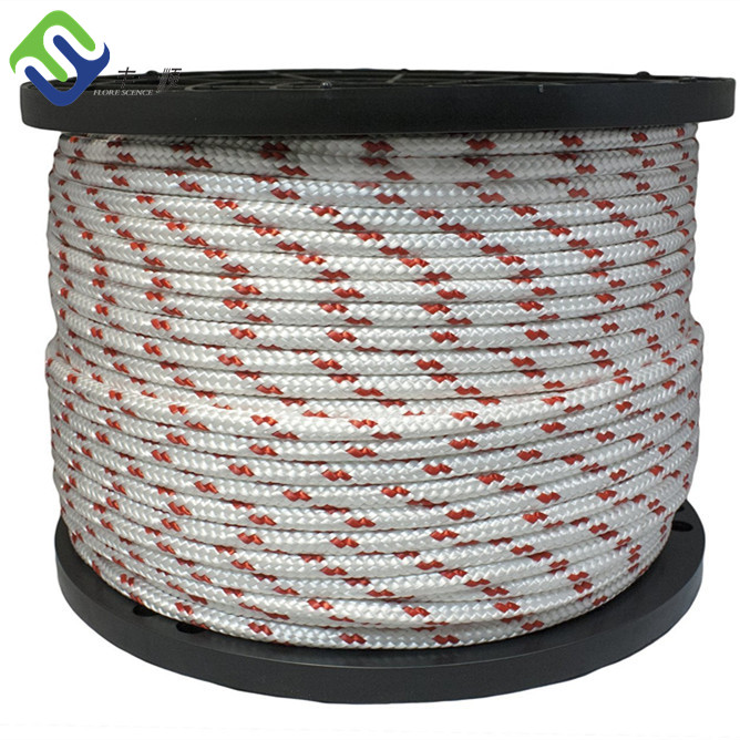 Marine Rope Part Double Braided Nylon Sailing Rope Yacht Boat Used