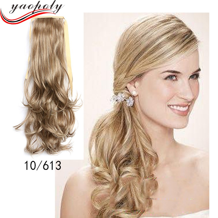 Cheap Ponytail Hairpieces For Ms 55 Cm Long