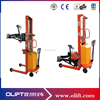 New design semi electric pallet stacker oil drum lifter drum lifter rotator with CE