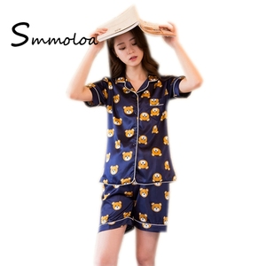 Short Sleeve Girl s Pajamas Set 75c287949