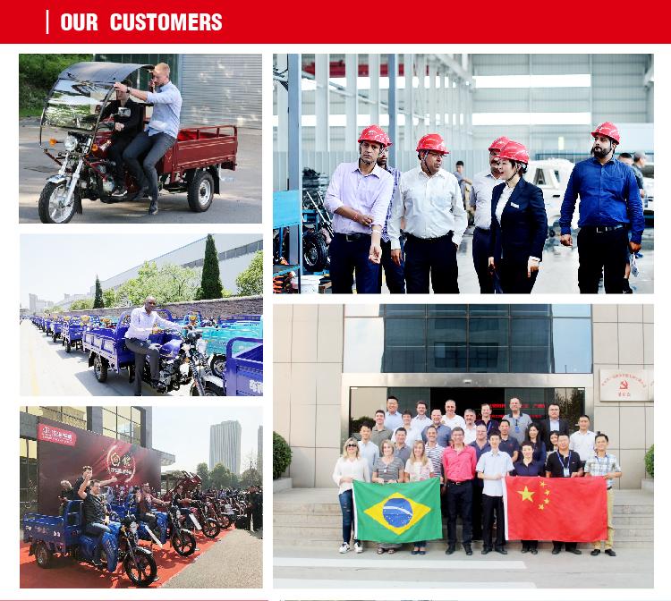 EWG Zertifizierung China Günstige Elektrische Passagier Dreirad 3 Wheeler Mobilität Roller