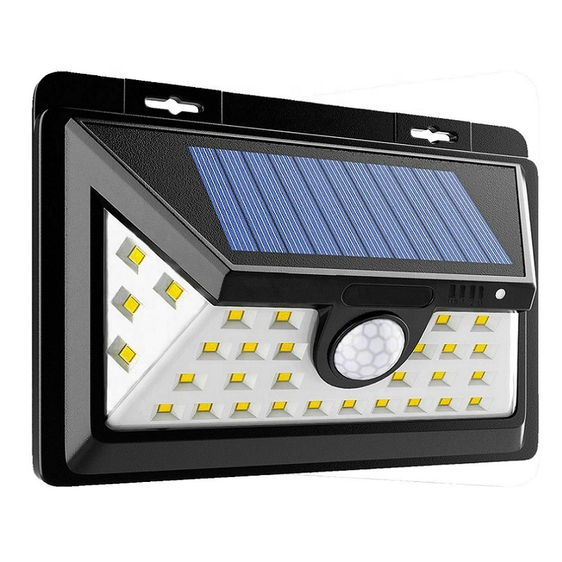 34 Led Waterproof Solar Ed