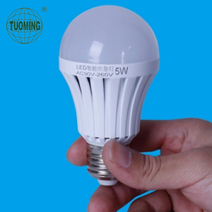 12W indoor usb charge rechargeable E27 emergency led bulb
