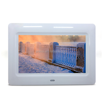 7 Touch Screen Dpfsex Video Mp3 New Solution Digital Photo Frame