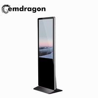 "Ultra Thin Digital Signage 49"" Advertising Kiosk 49 Inch User Floor Standing LCD Digital Signage Advertising LED Display"