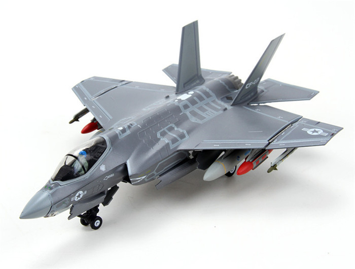 1:72 scale alloy airplane moedel F35A/C alloy aircraft military model for business gift