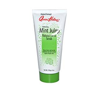 Queen Helene Refreshing Natural Facial Scrub Mint Julep - 6 oz , Queen Helene , Cleansers, Cosmetics