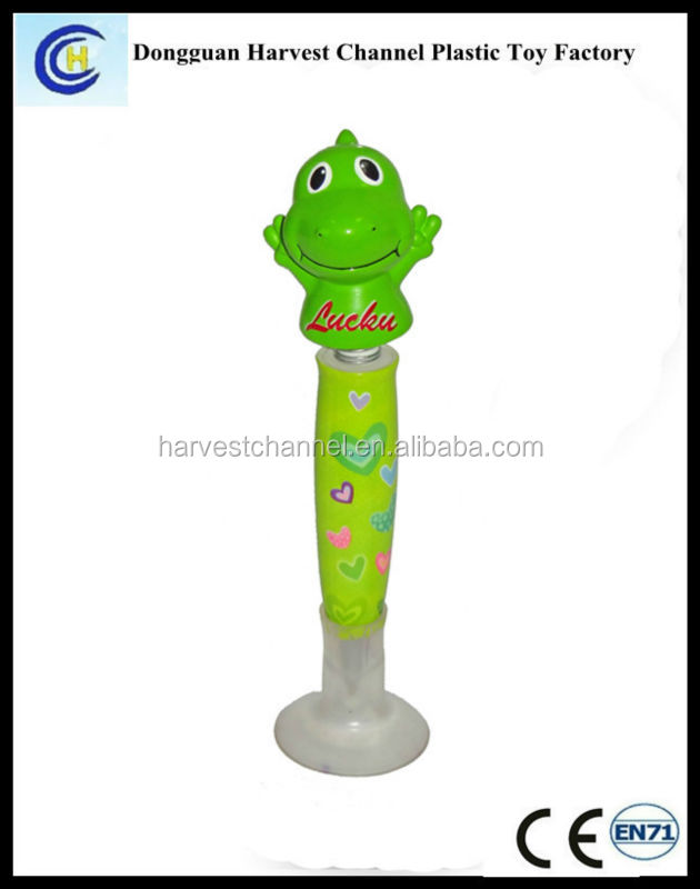 Head shaking animal ball pen/S ball point pen/ advertising Frog ball pen
