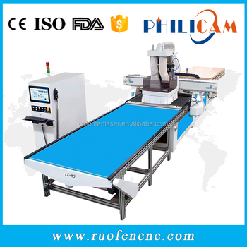 Philicam 3d Atc Cnc Router For panel Funiture Wood Door Making Machine