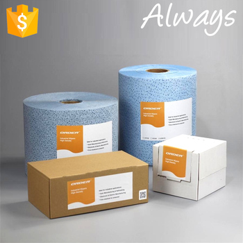 Aluminum Alloy Automobile Parts meltblown non-woven cleaning wipes
