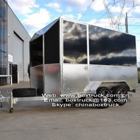 enclosed box trailer