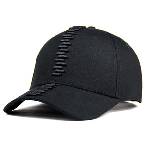 wholesale 6 panel hiphop hat modern korean style baseball cap hard hat