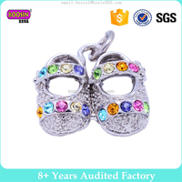enamel crystal dance baby shoe wholesale jewelry making charms