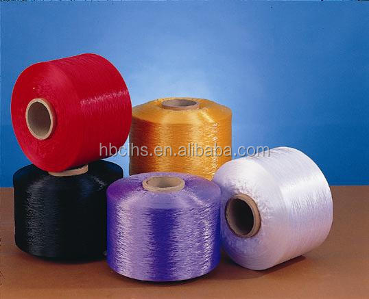High strength 600D 900D PP yarn for luggage or outdoor equipment