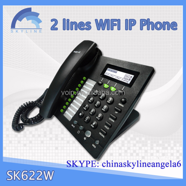Cheap OEM VoIP IP Phone RJ11 wifi sip phone
