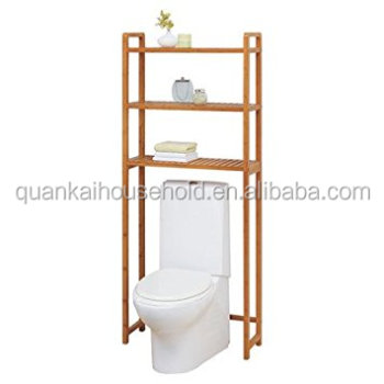 100% Bambus Bad Regal Holz Über Die Toilette Bad Regal - Buy Bambus Bad  Regal,Lagerregal,Handtuch Regal Product on Alibaba.com