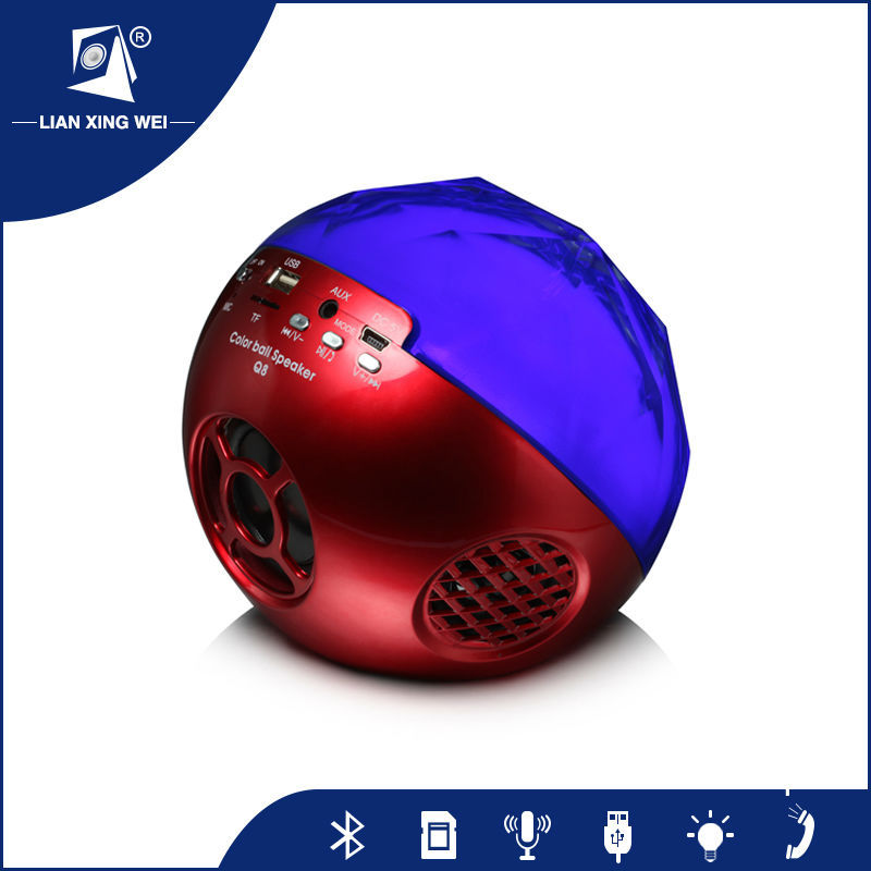 super bass speaker bluetooth mp3 sferica