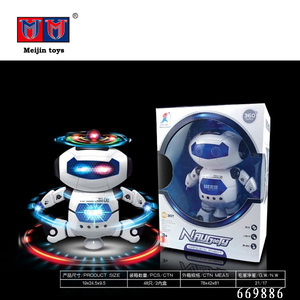 Kid small robot toy dancing robot toy with light and music for children