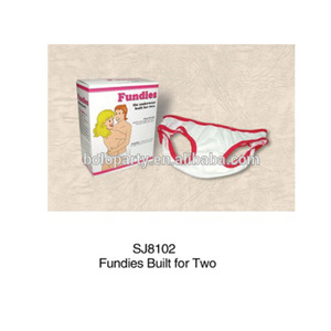 Sexy Fun Fundie Panties Couple Lovers Undies For Two Brief