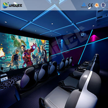 New Playground Equipment 5D Motion Cinema Simulation 4D Theater System HD 3D Movie
