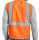 100% polyester high airport police construction security visibility reflective safety vest