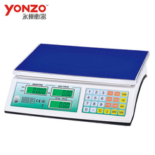 30kg LED/LCD display electronic digital platform balanzas pricing scale acs series price computing scales