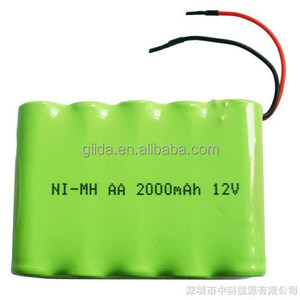 Rechargeable NIMH 6V Battery Pack Manufacturer with CE,ROHS, certificates