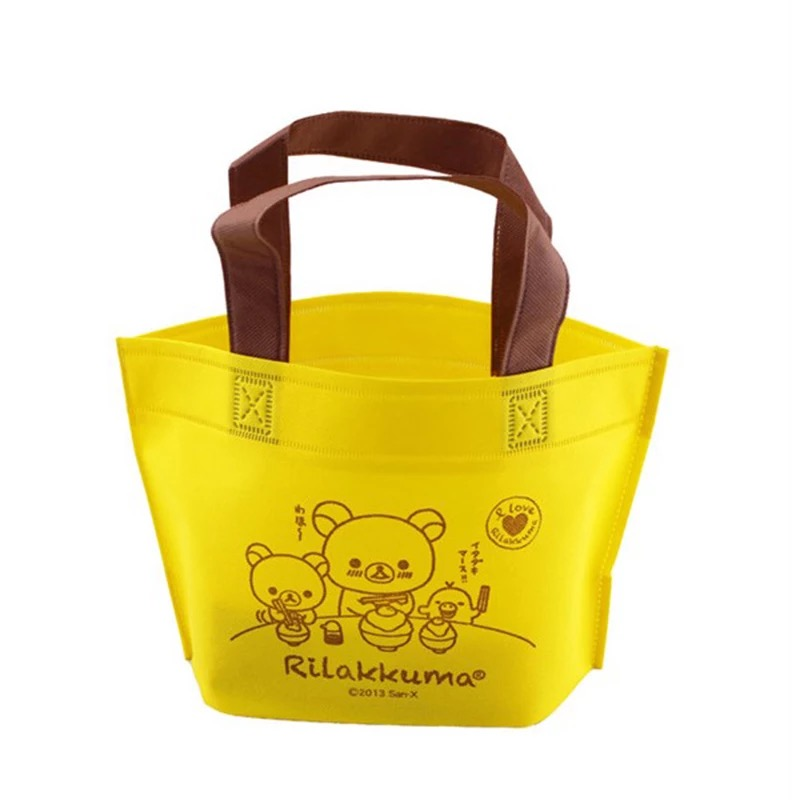 Gift no laminated cheap shopping bags recycled pp woven bag candy bags