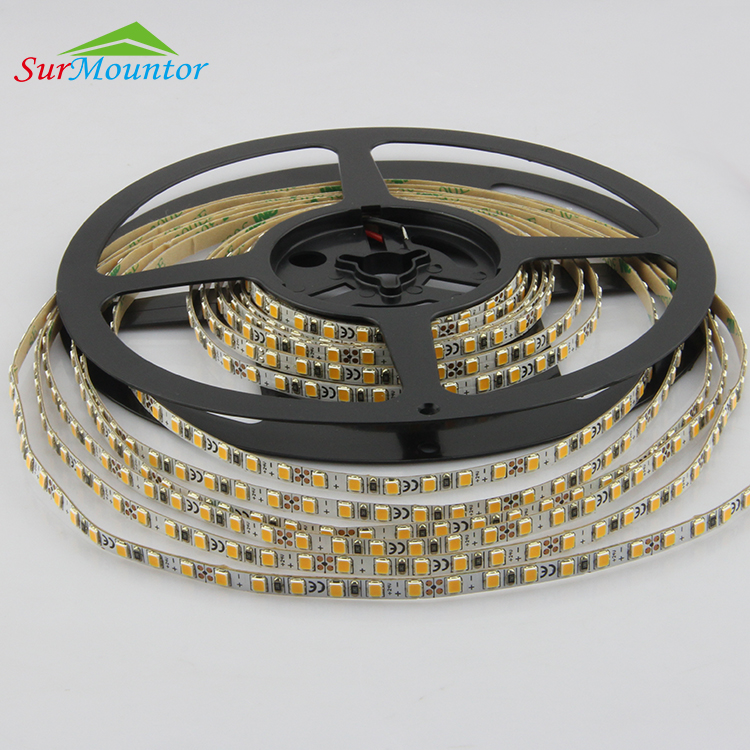 UL CE 90High Cri Led Strip Wachsen Licht, Vollspektrum Led Strip 2835 20 Mt, 5 Mm Breite Micro Led Strip Light Wireless