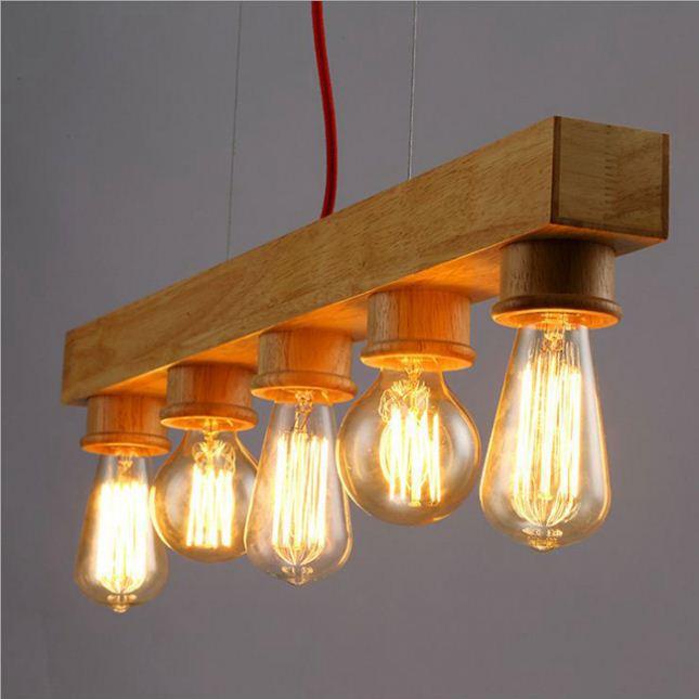 proyectos de interior moderna decoracin de la lmpara colgante para el comedor de aluminio madera plp