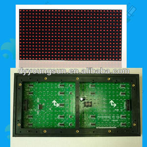 p10 red outdoor led price tag