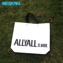 PP Non Woven Reinforced Handle Shopping Bag At Sale