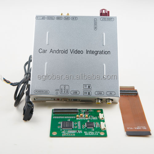 Toyota Highlander Android video integration 2014 UP supportS 1T USB HDD