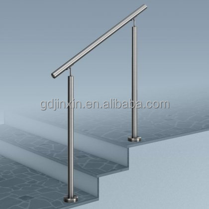 Stainless Steel Stair Step Safety Exterior Handrail Designs Safety ...