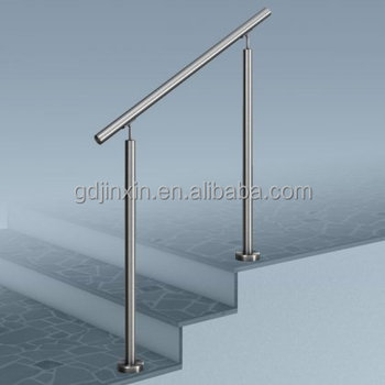Stainless Steel Stair Step Safety Exterior Handrail Designs Safety Grab  Handrail