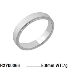 RXY00066 hot new men and women stainless steel rings simple fashion factory price custom jewelry