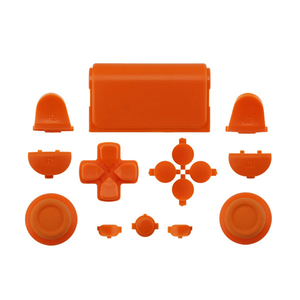 Blue Full Sets Replacement Parts Buttons For PlayStation 4 PS4 Controller