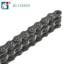 06C-2 made in china 40Mn steel double row transmission roller chain high quality bush chain